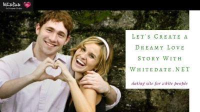 Give love a chance! Date white men on WhiteDate.NET!