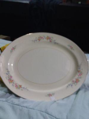 Eggshell Nautilus serving platter