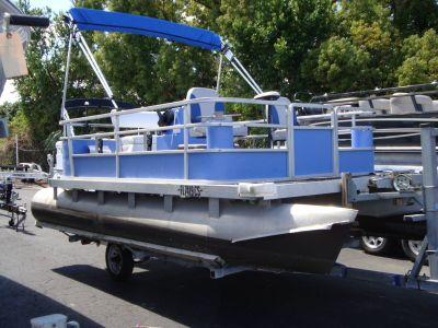 1984 Harris Flotebote Sandpiper 16 Pontoons Boats Holiday, FL