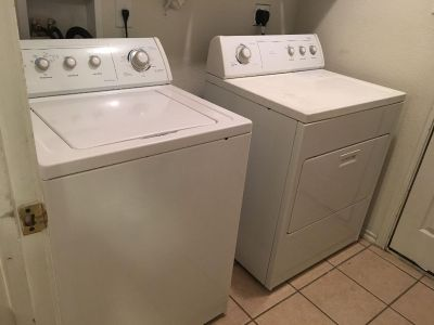 Working Washer and Dryer Set