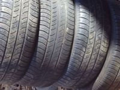 set of 4 , 205x55x16 use tires