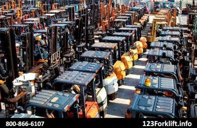 Used Rough Terrain Forklift Huntington Beach, CA