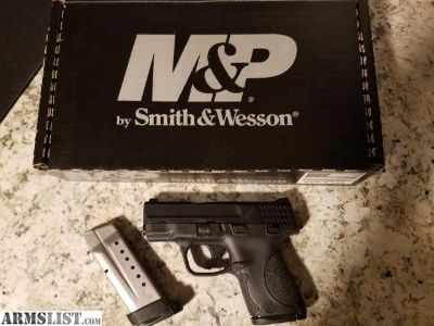 For Sale/Trade: M&P Shield with extras
