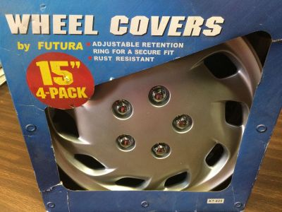 """2 - 15"""" Wheel Covers by Futura"""