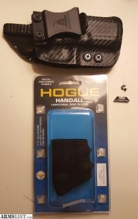 For Trade: Glock 19/23 kydex holster/Hogue grip/sights