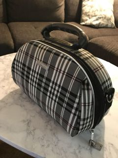 Burberry Style Travel Bag/Tote