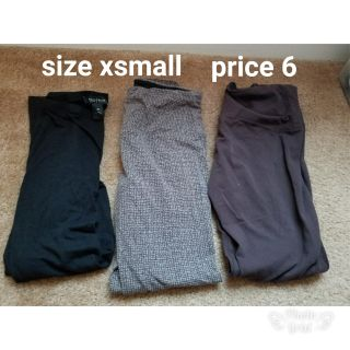 Pants size x small