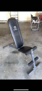 Marcy adjustable workout bench