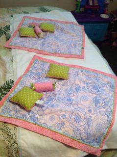 Extra Bedding for 18 inch Doll beds