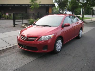 2013 Toyota Corolla L (Red)
