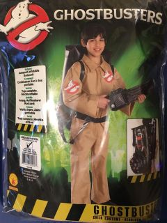 Ghostbusters Costume (ages 5-7)