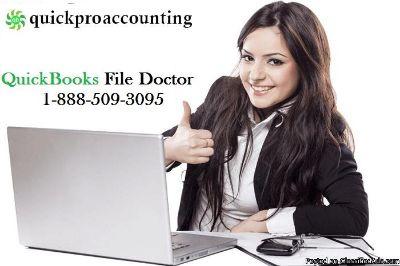 Run QuickBooks File Doctor Tool to fix the Error 6000,