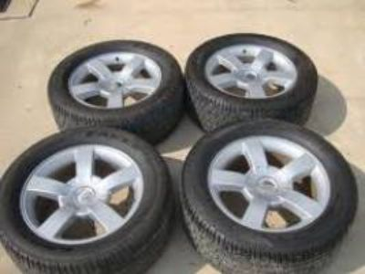 RARE 20 silverado SS rims and tires for trade (avoyelles parish)