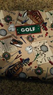Golf fabric. Upholstery weight