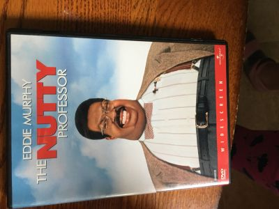 The Nutty Professor. Good condition. Not smoking home