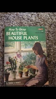 Vintage How to grow beautiful house plants