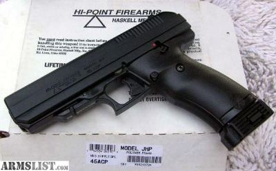 For Sale: Hi Point JHP .45