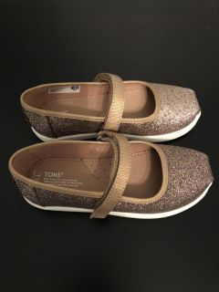 Glimmer Tiny Toms Mary Jane Shoes - NWOT