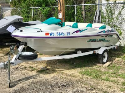 1997 Sea-Doo Challenger Jet Boats Edgerton, WI
