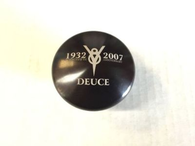 Purchase 1932-2007 Deuce 75th Anniversary Black Gennie Shifter Knob Hot Rod Rat Rod motorcycle in Cleveland, Ohio, United States, for US $35.00