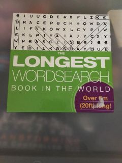 Longest word search book.