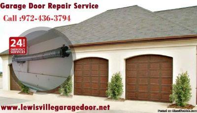 24/7 Garage Door Repair ($25.95) Lewisville Dallas, 75056 TX