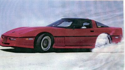 John Lingenfelter Personal 1986 C4 Corvette Rolling Chassis