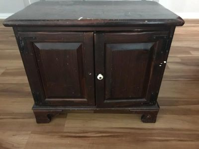 Cabinet solid heavy wood