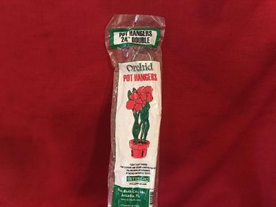 Better-Gro Orchid Pot Hangers. 24 Double. New in Package