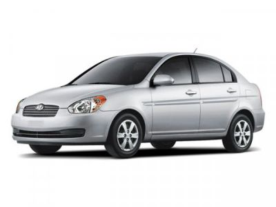2009 Hyundai Accent GLS (Wine Red)