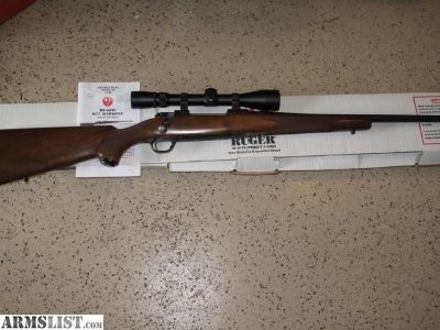 For Sale: Ruger M77 Hawkeye 30/06 Factory New