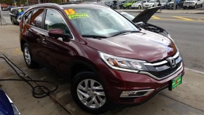 2015 Honda CR-V AWD 5dr EX-L w/Navi (Basque Red Pearl II)