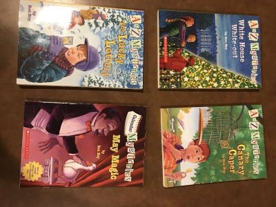 A to Z Mysteries chapter books set of 4