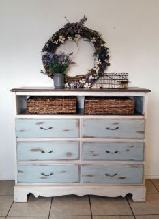 Farmhouse dresser, beach cottage style dresser