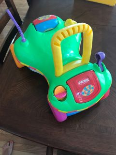 Playskool ride on toy and walker
