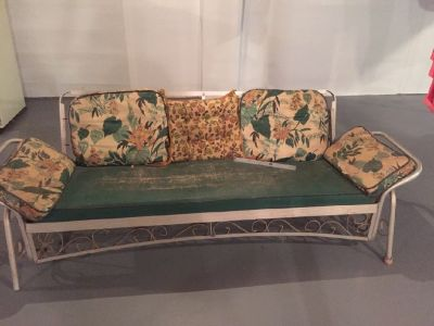 Antique Patio Glider of the 40's/50's