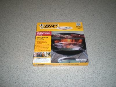 BIC Charcoal Alternative Flame Disk NEW