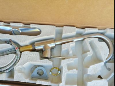 Hansgrohe Brushed Nickel Kitchen Faucet