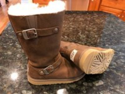 Girls UGG Leather Boots