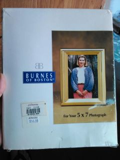 Two Burnes of Boston 5 by 7 picture frames