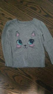 Childrens place 5t kitty shirt