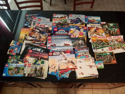 50+ Lego Instruction Books