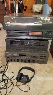 Vintage Stereo equipment in great shape