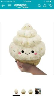 ISO plush cup cake squishy