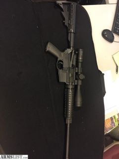 For Sale/Trade: AR 15 Ruger 5.56/.223