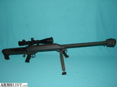 For Sale: Barrett M99 50BMG