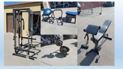 Gym Cage and Weights Delivery Options