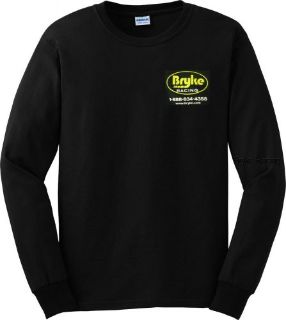 Purchase Bryke Racing Logo T-Shirt Black X-LARGE LONG SLEEVE T shirt Dirt Racing Apparel motorcycle in Lincoln, Arkansas, United States, for US $11.99