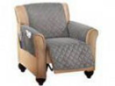 Collections Etc Micro Fleece Quilted Furniture Protector Recline