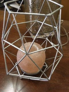 Silver wire Candle Holder